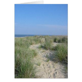 Beach,  Path to Ocean Card