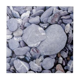 Beach pebbles tile