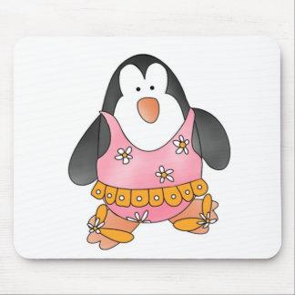 Beach Penguin Mouse Mat