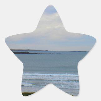 Beach Photo Star Sticker