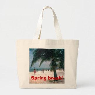 beach pic, Spring break! Jumbo Tote Bag