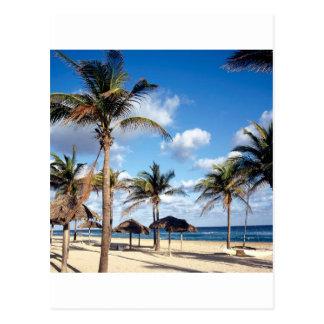 Beach Playas Cuba Post Card