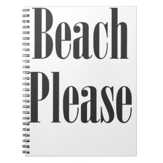 Beach Please Notebook