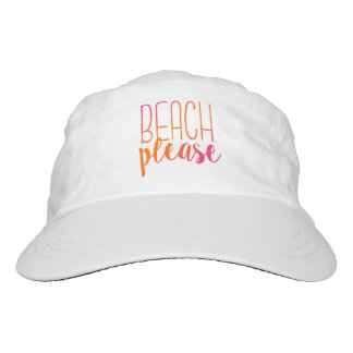 Beach Please | Pink and Orange Tropical Hat