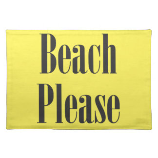 Beach Please Placemats