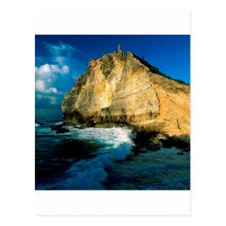 Beach Pointe Des Chateaux Guadeloupe Postcard