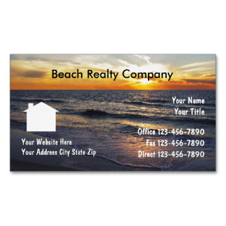 Beach Realty Business Magnets