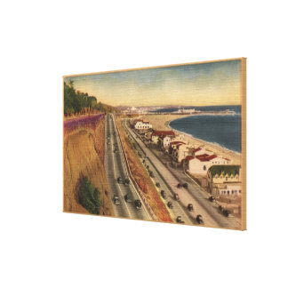 Beach Residences of the Movie Stars Gallery Wrapped Canvas