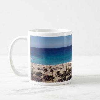 Beach Resort Background Mugs