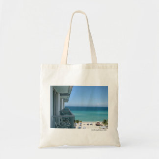 Beach Resort Budget Tote Bag