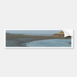 Beach River Bumper Sticker