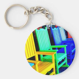 Beach Rockers Keychain