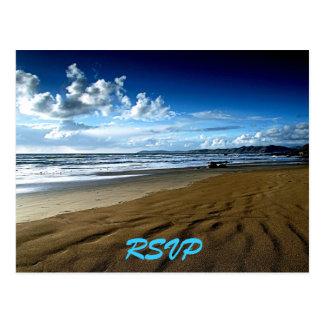 Beach RSVP Postcard