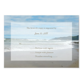 Beach RSVP Wedding Invitation