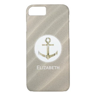 Beach sand anchor iPhone 8/7 case