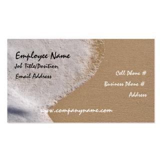 Beach Sand Business Card Template