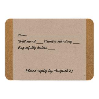 Beach Sand Christian Cross RSVP 9 Cm X 13 Cm Invitation Card