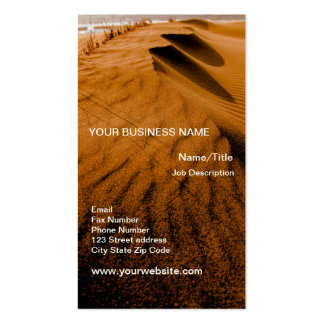 Beach Sand Dunes Double-Sided Standard Business Cards (Pack Of 100)