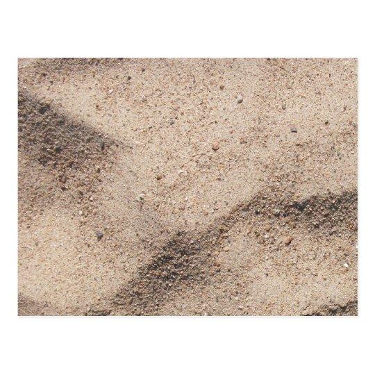 Beach Sand Postcard