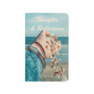 Beach Sand & Seashells Thoughts & Reflections Journal