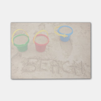 Beach Sand Words Post-it® Notes