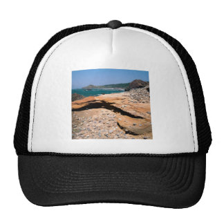 Beach Sandstone Erosion Otter Wayside Trucker Hats