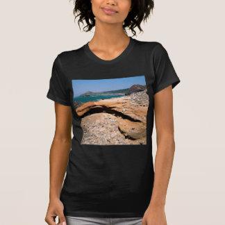 Beach Sandstone Erosion Otter Wayside Tee Shirt