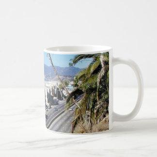 Beach Santa Monica Ocean Basic White Mug