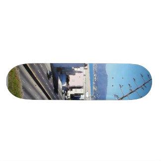 Beach Santa Monica Ocean Skate Board Deck