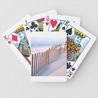 Beach Santa Rosa Island Seashore Poker Deck