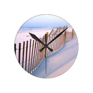 Beach Santa Rosa Island Seashore Round Clock