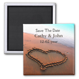 beach Save the date magnet Fridge Magnets