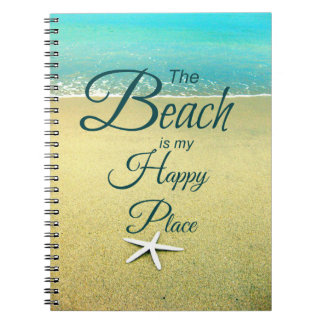 Beach Saying Note Book