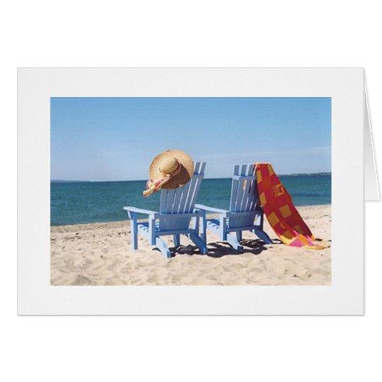 BEACH SCENE-FAVORITE SISTER'S BIRTHDAY CARD