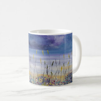 Beach scene mug Jenny Moran Empty Beach mug