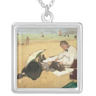 Beach scene pendant