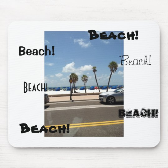 Beach scene on Mouse Mouse Mat