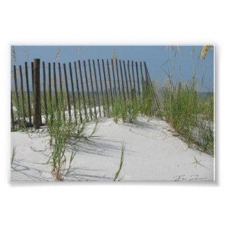 Beach Scene Photo Print