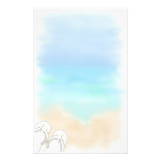 Beach Scene Stationery