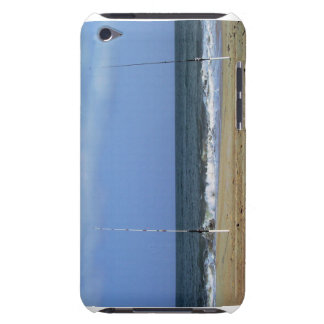 Beach Scene With Fishing Poles Barely There iPod Case
