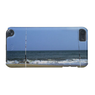 Beach Scene With Fishing Poles iPod Touch 5G Case