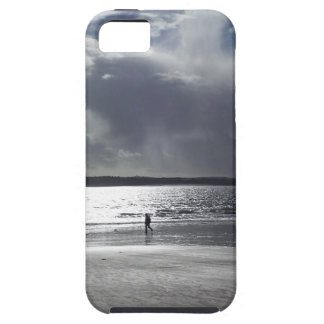 Beach Scene with people Walking Tough iPhone 5 Case