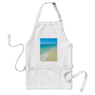 Beach scenery standard apron