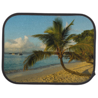 Beach scenic car mat