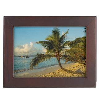 Beach scenic keepsake box