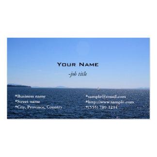beach,sea and sky business card business cards