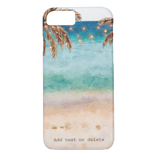beach sea sand tropical phone case cover