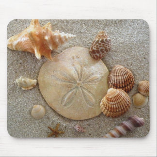 Beach Sea Shells Mousepad