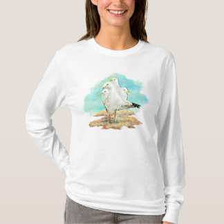 Beach, Seagull T-Shirt