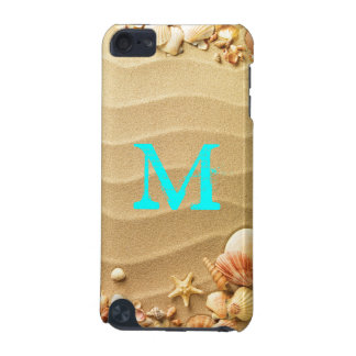 Beach Seashells Hawaii Monogram Initial IPOD Touch iPod Touch (5th Generation) Case